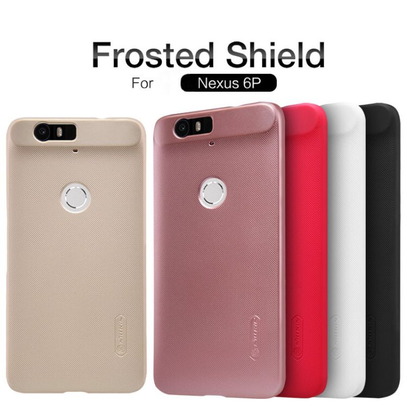 Nillkin Super Frosted Shield Matte cover case for Huawei Nexus 6P + free screen protector order from official NILLKIN store