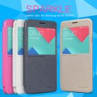 Nillkin Sparkle Series New Leather case for Samsung A5100 (A510F) order from official NILLKIN store