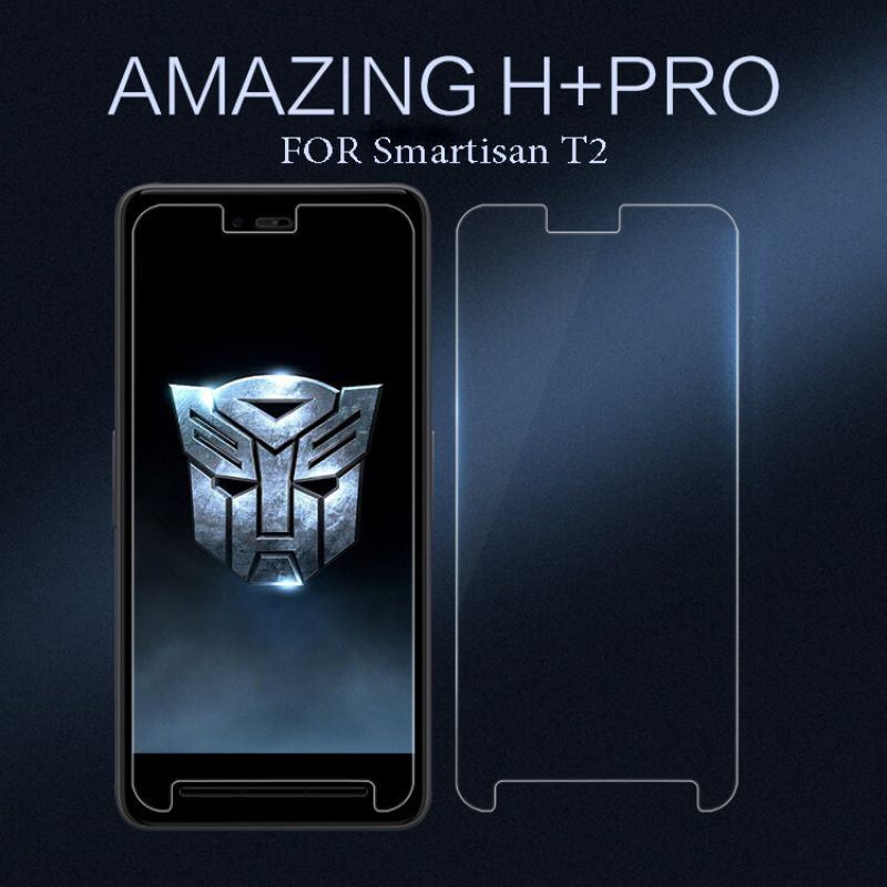 Nillkin Amazing H+ Pro tempered glass screen protector for Smartisan T2 order from official NILLKIN store