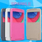 Nillkin Sparkle Series New Leather case for Lenovo Vibe X3 Lite (K4 Note) order from official NILLKIN store