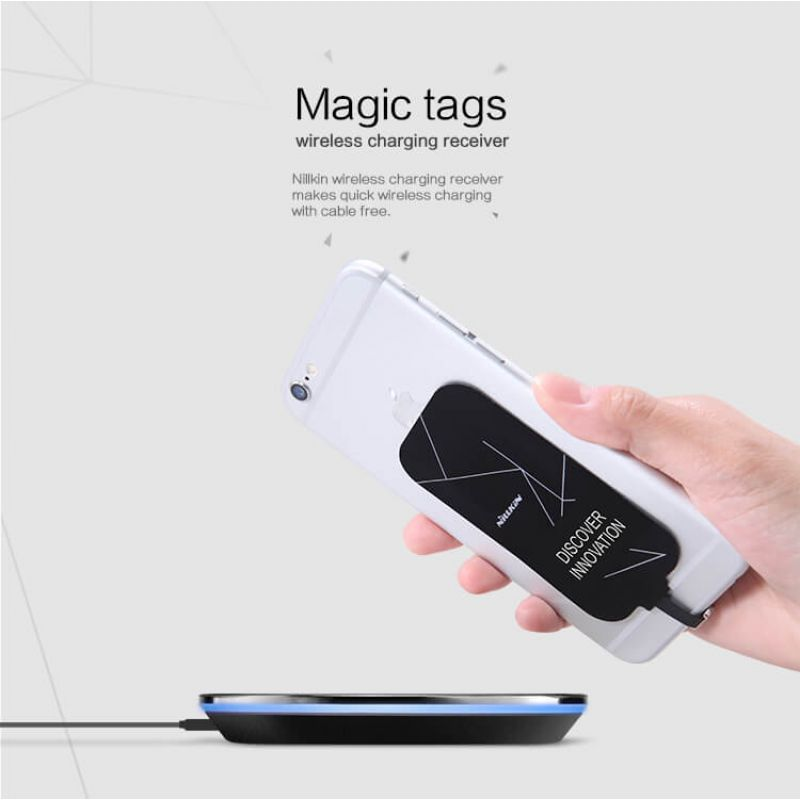 Nillkin Magic Tags Wireless Charging Receiver order from official NILLKIN store