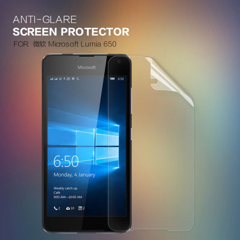 Nillkin Matte Scratch-resistant Protective Film for Microsoft Lumia 650 order from official NILLKIN store