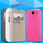 Nillkin Sparkle Series New Leather case for LG K4 order from official NILLKIN store