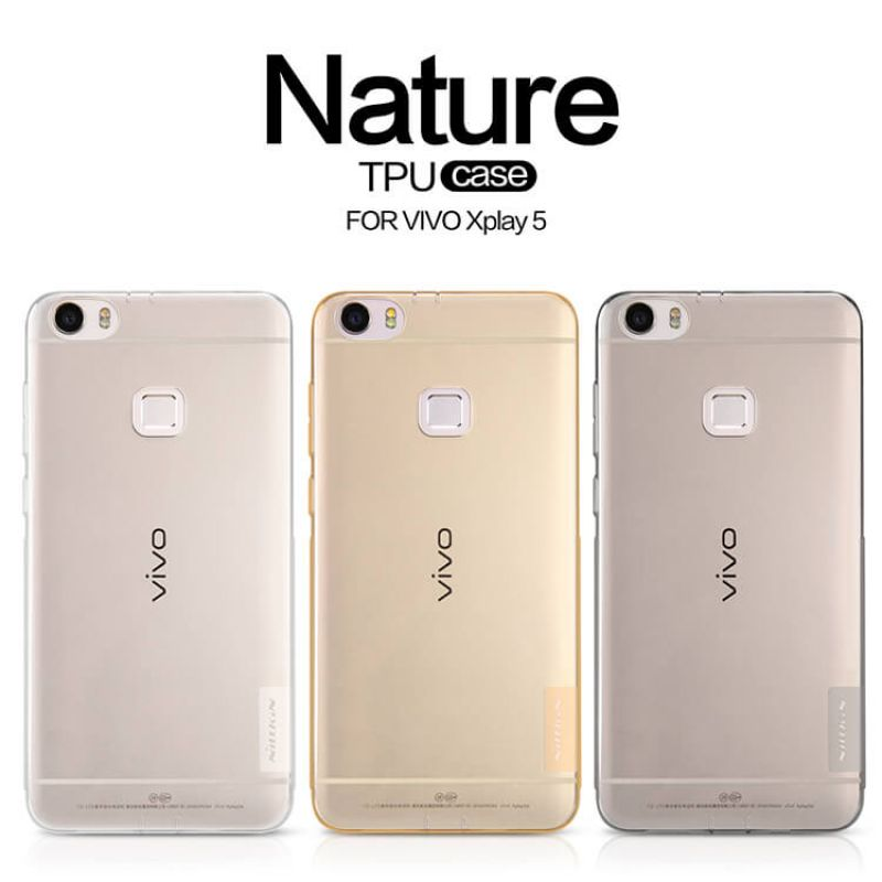 Nillkin Nature Series TPU case for BBK Vivo Xplay 5 order from official NILLKIN store