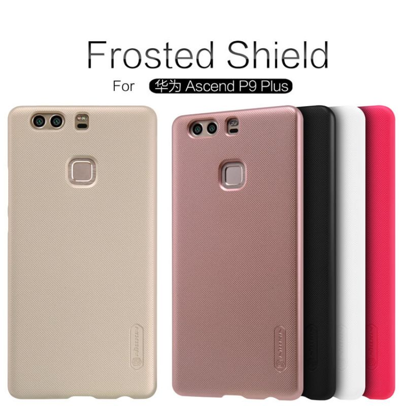 Nillkin Super Frosted Shield Matte cover case for Huawei Ascend P9 Plus + free screen protector order from official NILLKIN store