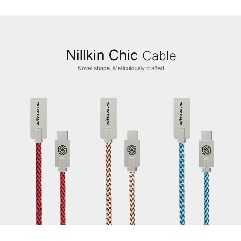 Nillkin Chic Type C high quality cable order from official NILLKIN store