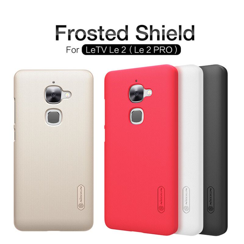 Nillkin Super Frosted Shield Matte cover case for LeTV Le 2 (Le 2 PRO) + free screen protector order from official NILLKIN store