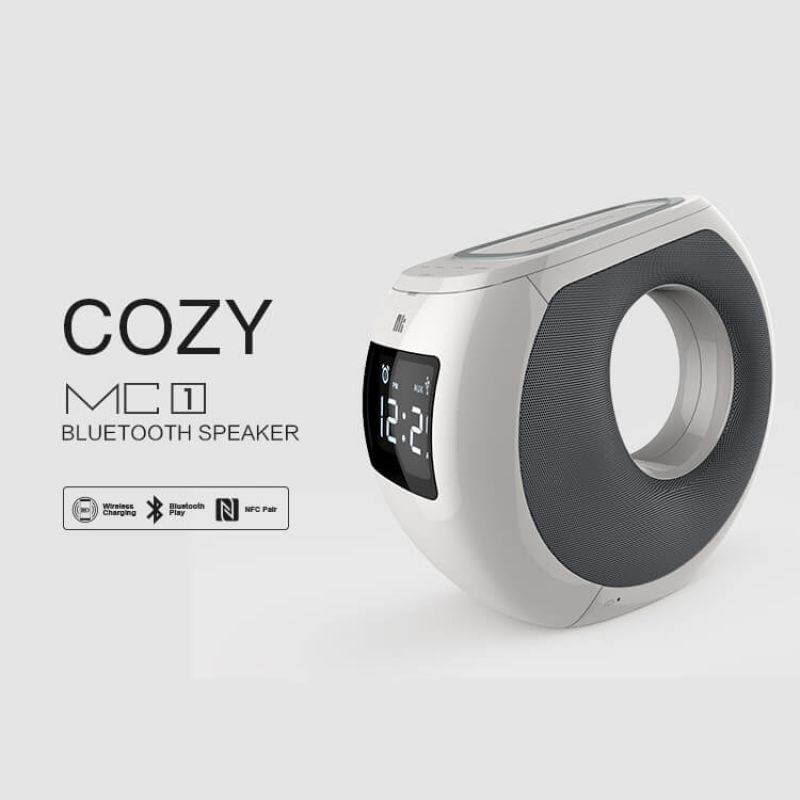 NK Enjoy COZY MC1 Bluetooth speaker (NK MC1 Nillkin sub-brand) (NFC Pair, Wireless charger) order from official NILLKIN store