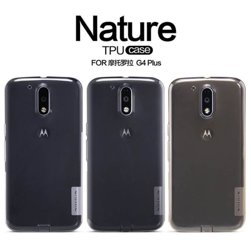 Nillkin Nature Series TPU case for Motorola Moto G4 Plus order from official NILLKIN store