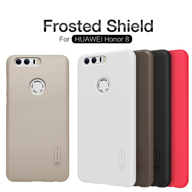 Nillkin Super Frosted Shield Matte cover case for Huawei Honor 8 FRD-L09 FRD-L19 FRD-L04 FRD-DL00 FRD-AL10 FRD-AL00 + free screen protector order from official NILLKIN store