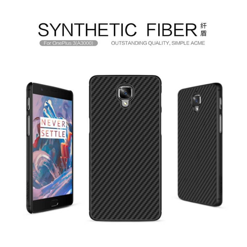 Nillkin Synthetic fiber Series protective case for Oneplus 3 / 3T (A3000 A3003 A3005 A3010) order from official NILLKIN store