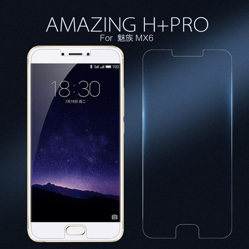 Nillkin Amazing H+ Pro tempered glass screen protector for Meizu MX6 order from official NILLKIN store