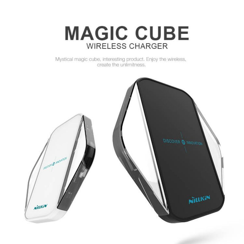 Nillkin Qi Wireless Charger Magic Cube order from official NILLKIN store