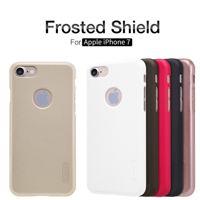 Nillkin Super Frosted Shield Matte cover case for Apple iPhone 7 + free screen protector order from official NILLKIN store