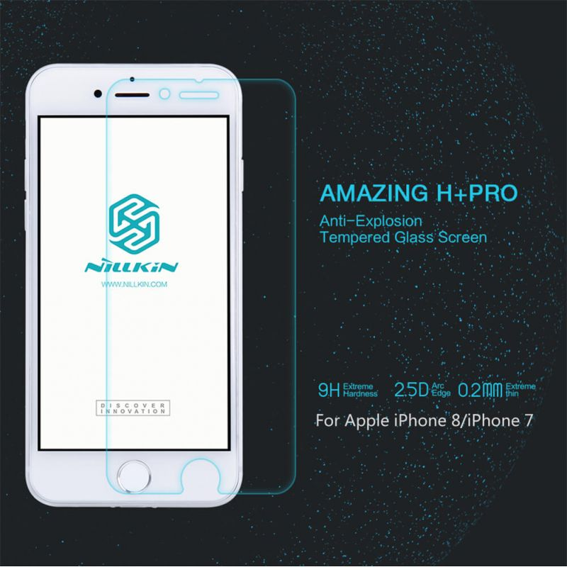 Nillkin Amazing H+ Pro tempered glass screen protector for Apple iPhone 8 / iPhone 7 order from official NILLKIN store