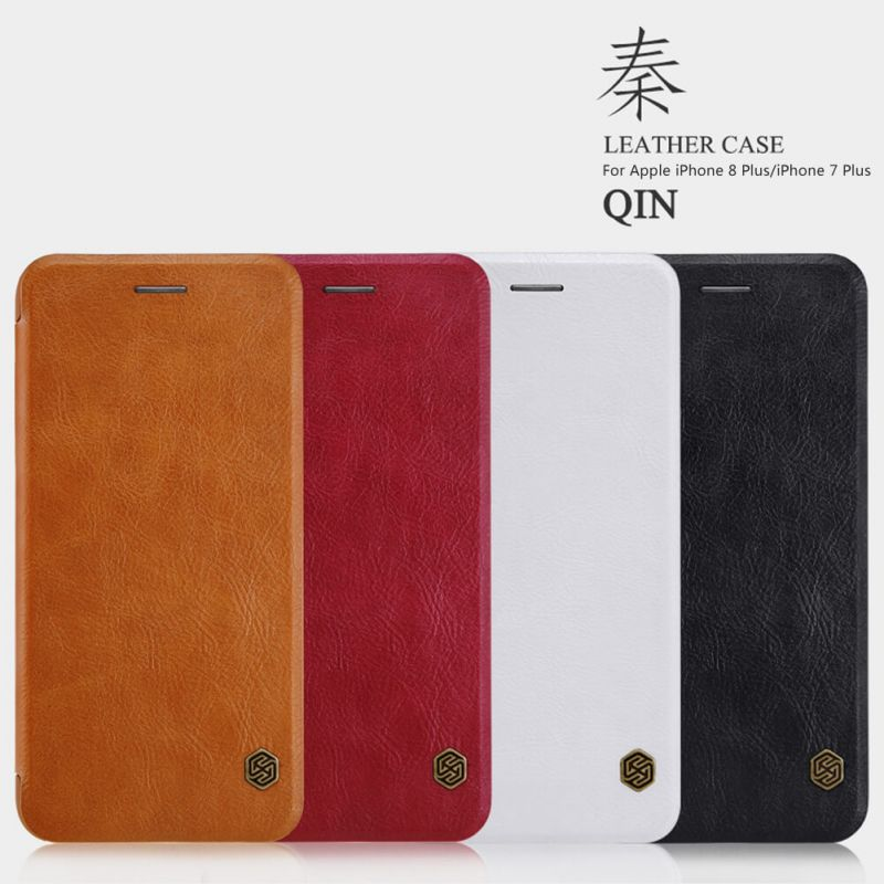 Nillkin Qin Series Leather case for Apple iPhone 8 Plus / iPhone 7 Plus order from official NILLKIN store