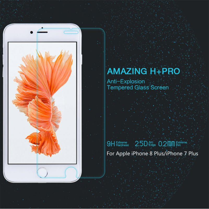 Nillkin Amazing H+ Pro tempered glass screen protector for Apple iPhone 8 Plus / 7 Plus order from official NILLKIN store