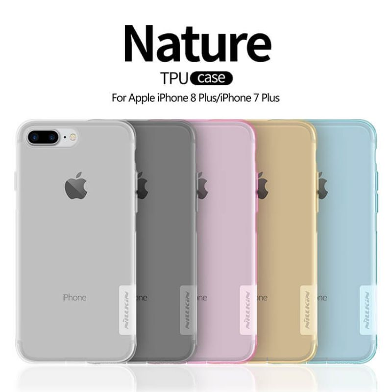 Nillkin Nature Series TPU case for Apple iPhone 8 Plus / iPhone 7 Plus order from official NILLKIN store