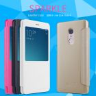 Nillkin Sparkle Series New Leather case for Xiaomi Redmi Note 4 / Redmi Note 4 Pro / Redmi Note 4X Pro order from official NILLKIN store