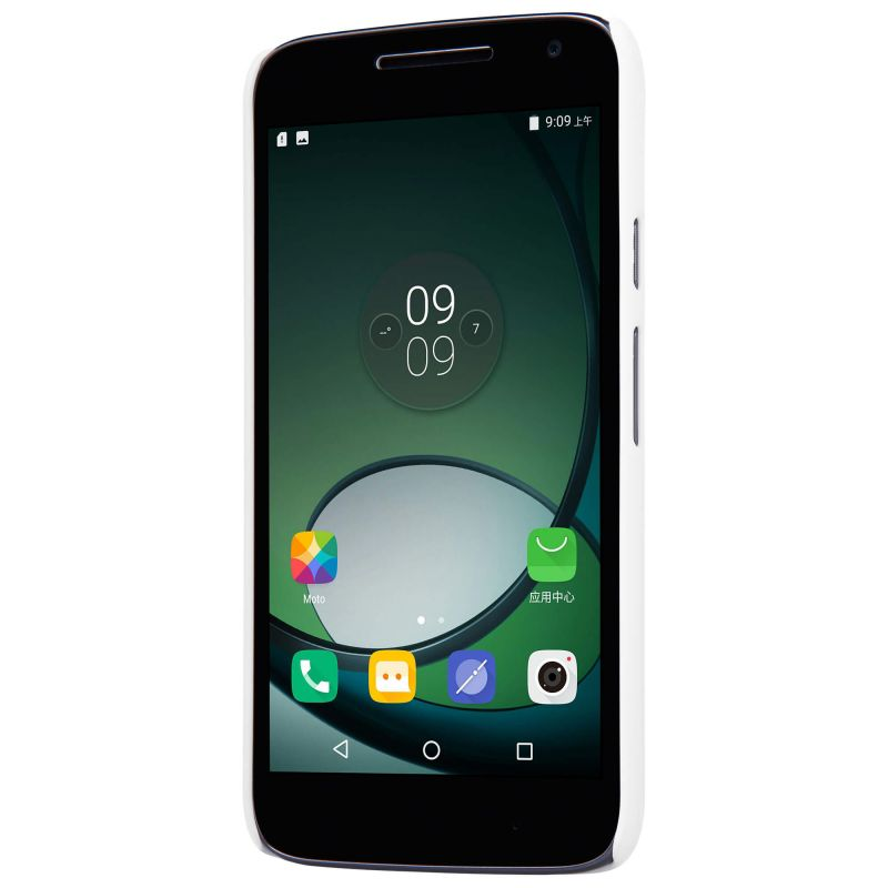 motorola g4 play. nillkin super frosted shield matte cover case for motorola moto g4 play + free screen protector