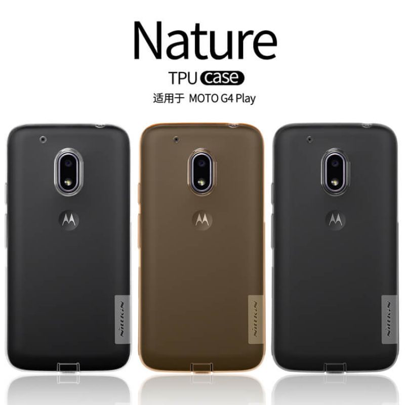 moto g4 case. nillkin nature series tpu case for motorola moto g4 play order from official nillkin store /