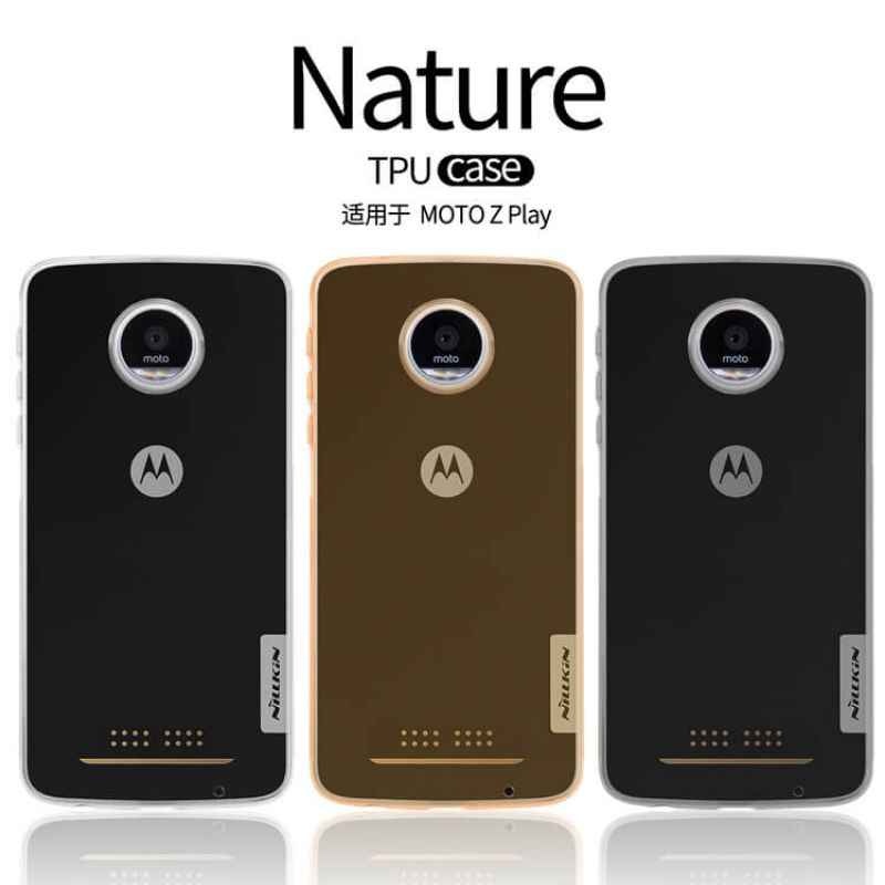moto z play. Nillkin Nature Series TPU Case For Motorola Moto Z Play Order From Official NILLKIN Store