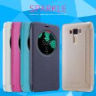 Nillkin Sparkle Series New Leather case for Asus Zenfone 3 Laser ZF3 (ZC551KL) order from official NILLKIN store