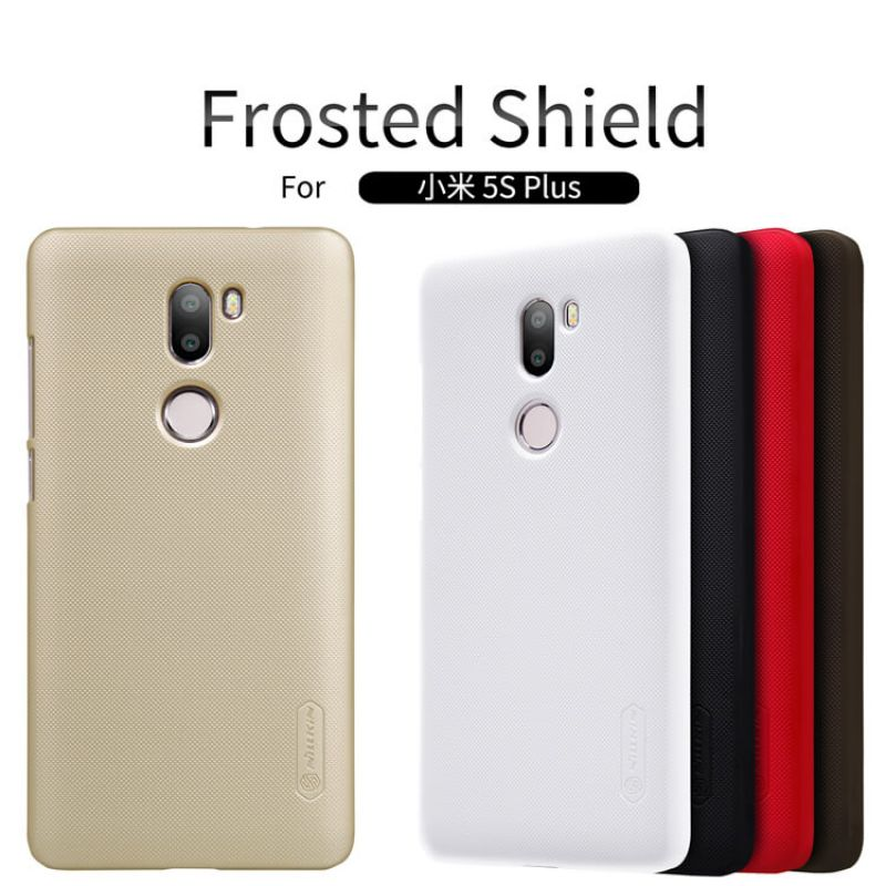 Nillkin Super Frosted Shield Matte cover case for Xiaomi Mi5S Plus (Mi 5s plus) + free screen protector order from official NILLKIN store
