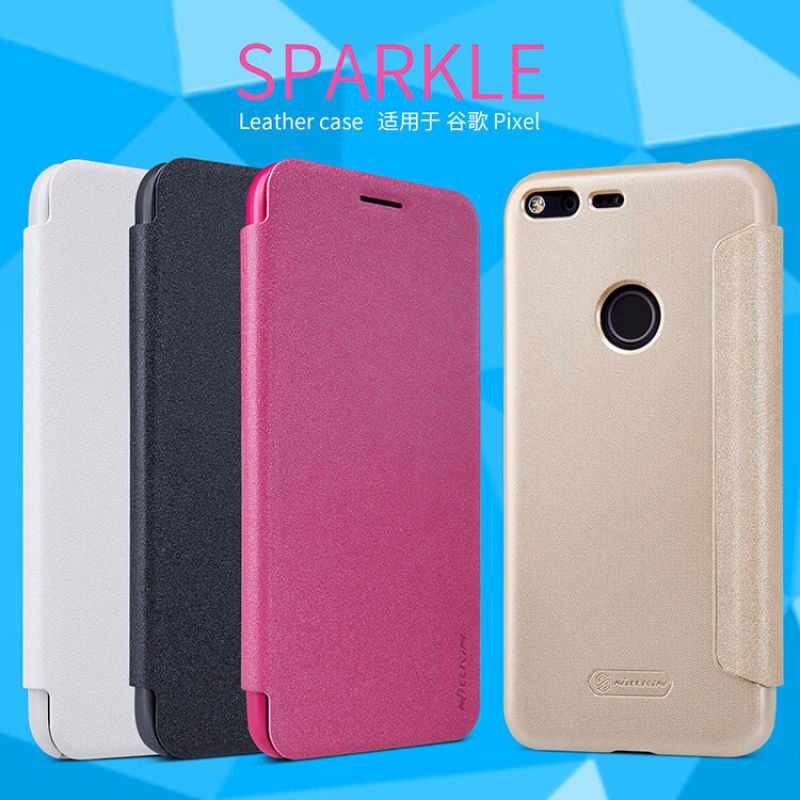 Nillkin Sparkle Series New Leather case for Google Pixel order from official NILLKIN store