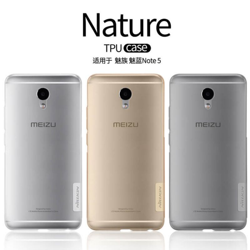 Nillkin Nature Series TPU case for Meizu M5 Note order from official NILLKIN store