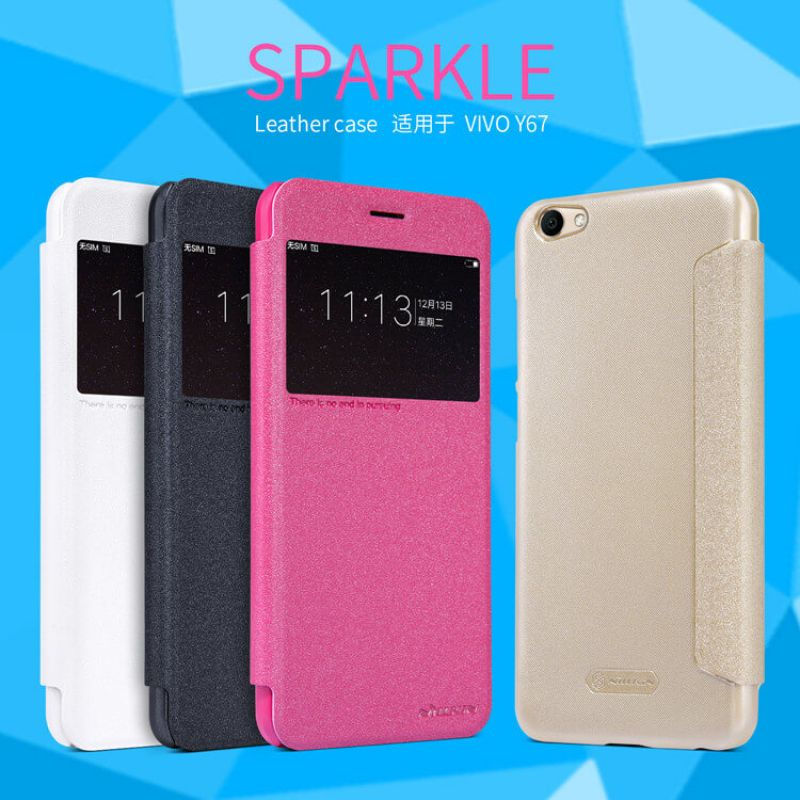 Nillkin Sparkle Series New Leather case for Vivo V5 (Y67) order from official NILLKIN store