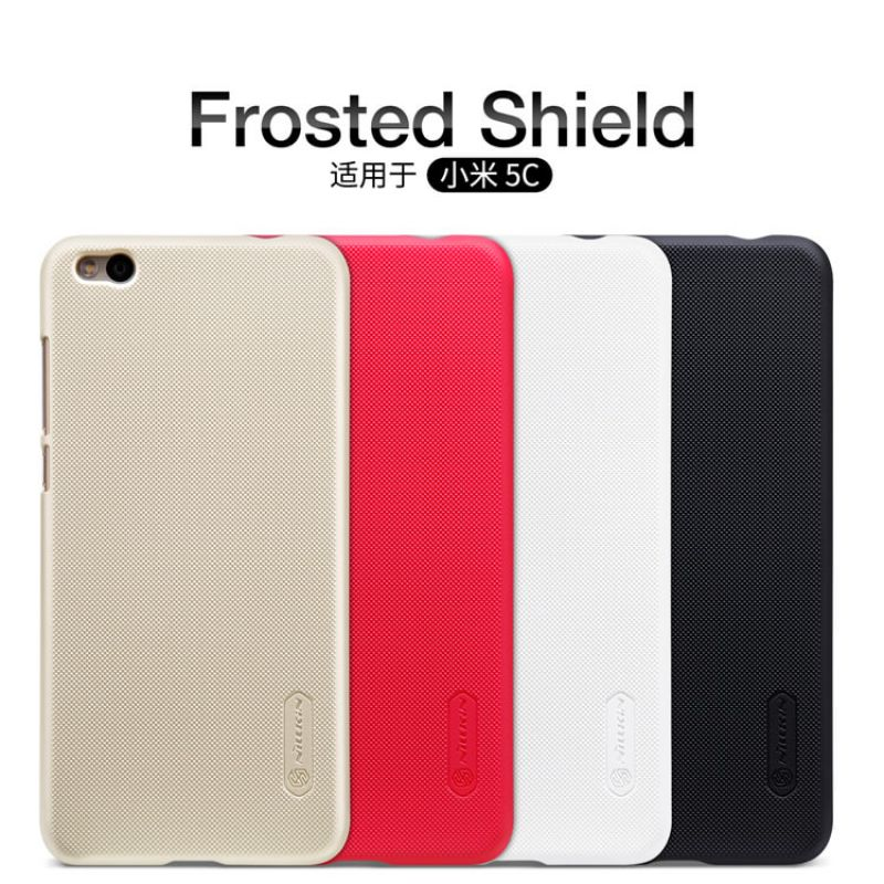 Nillkin Super Frosted Shield Matte cover case for Xiaomi Mi5C 5.15 + free screen protector order from official NILLKIN store