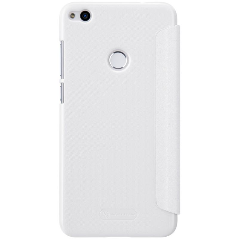 huawei p8 lite white. nillkin sparkle series new leather case for huawei p8 lite (2017) order from official white