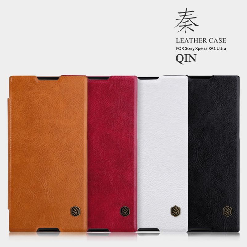 Nillkin Qin Series Leather case for Sony Xperia XA1 Ultra order from official NILLKIN store
