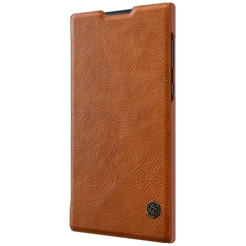 sony l1 case. nillkin qin series leather case for sony xperia l1 order from official nillkin store
