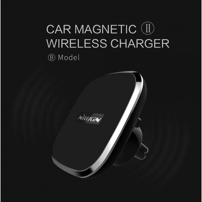 NILLKIN Car Magnetic QI Wireless Charger II (model B) order from official NILLKIN store