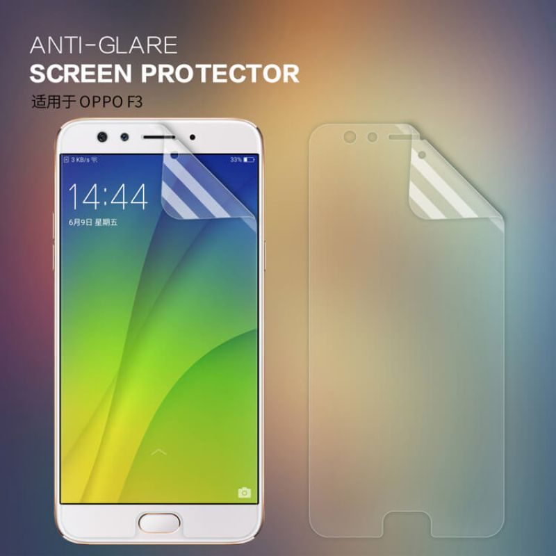Nillkin Matte Scratch-resistant Protective Film for Oppo F3 order from official NILLKIN store
