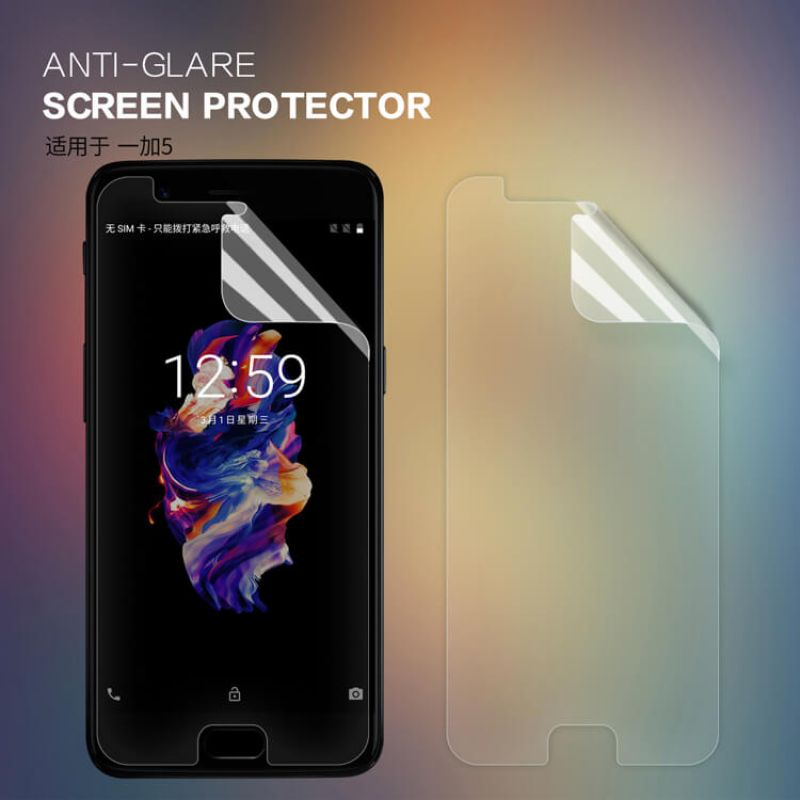 Nillkin Matte Scratch-resistant Protective Film for Oneplus 5 (A5000 A5003 A5005) order from official NILLKIN store
