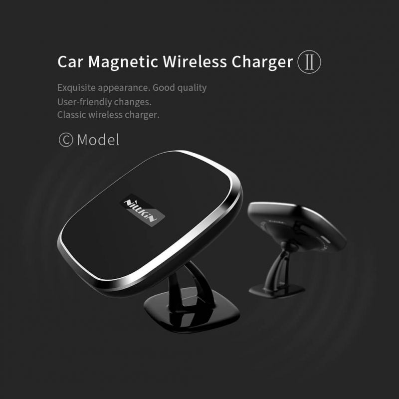 NILLKIN Car Magnetic QI Wireless Charger II (model C) order from official NILLKIN store