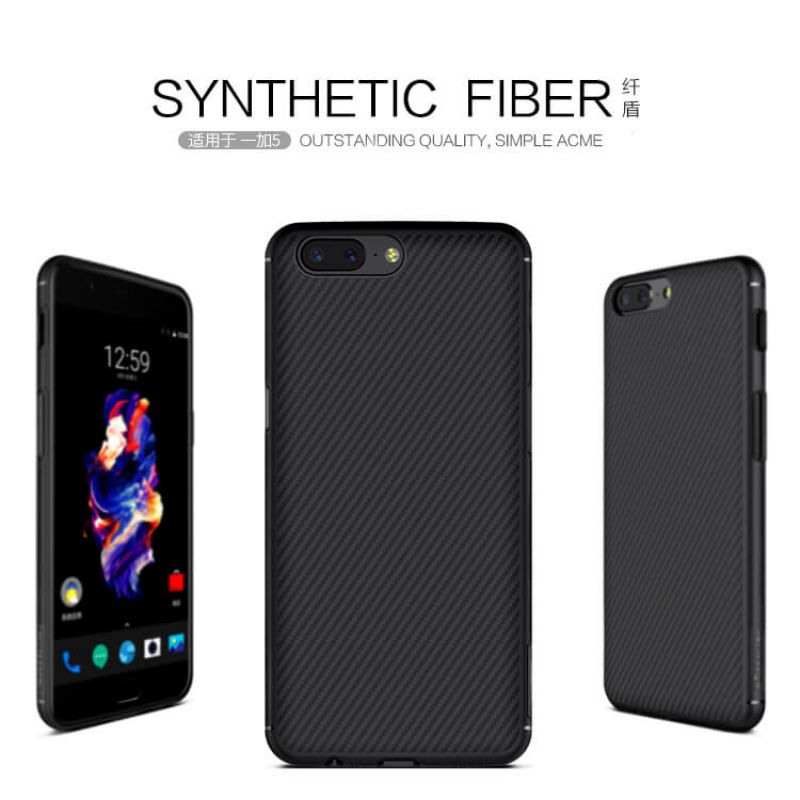 Nillkin Synthetic fiber Series protective case for Oneplus 5 (A5000 A5003 A5005) order from official NILLKIN store
