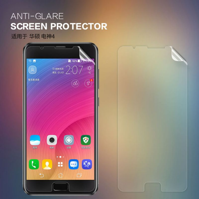 Nillkin Matte Scratch-resistant Protective Film for Asus Zenfone 4 Max (ZC550TL) order from official NILLKIN store