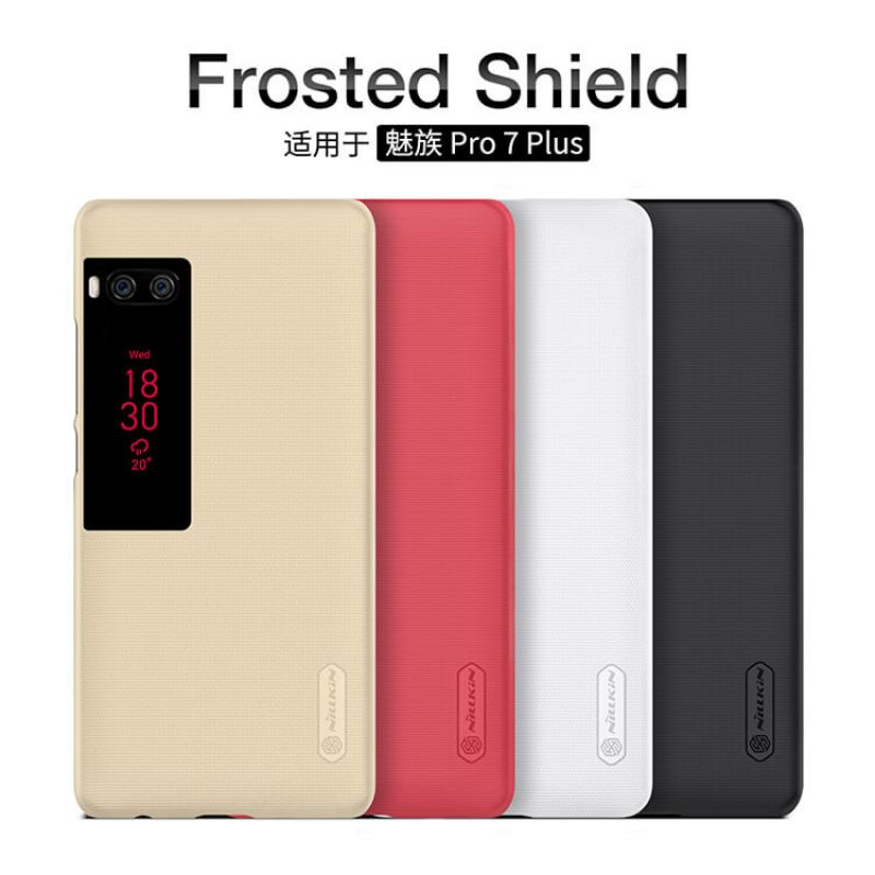 Nillkin Super Frosted Shield Matte cover case for Meizu Pro 7 Plus + free screen protector order from official NILLKIN store