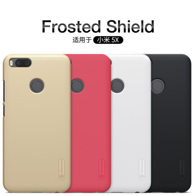 Nillkin Super Frosted Shield Matte cover case for Xiaomi Mi5X (Mi 5X) + free screen protector order from official NILLKIN store