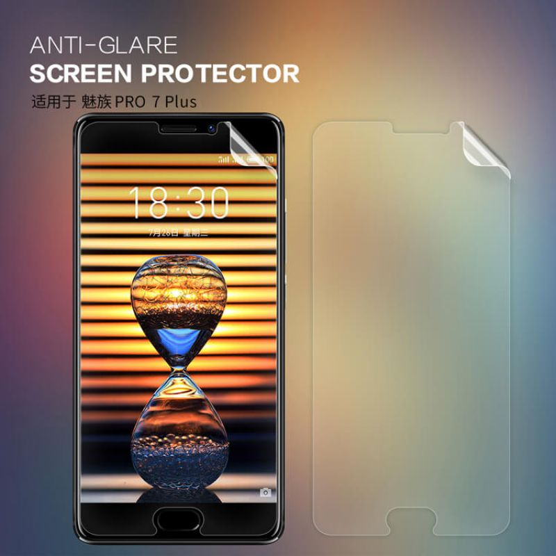 Nillkin Matte Scratch-resistant Protective Film for Meizu Pro 7 Plus order from official NILLKIN store
