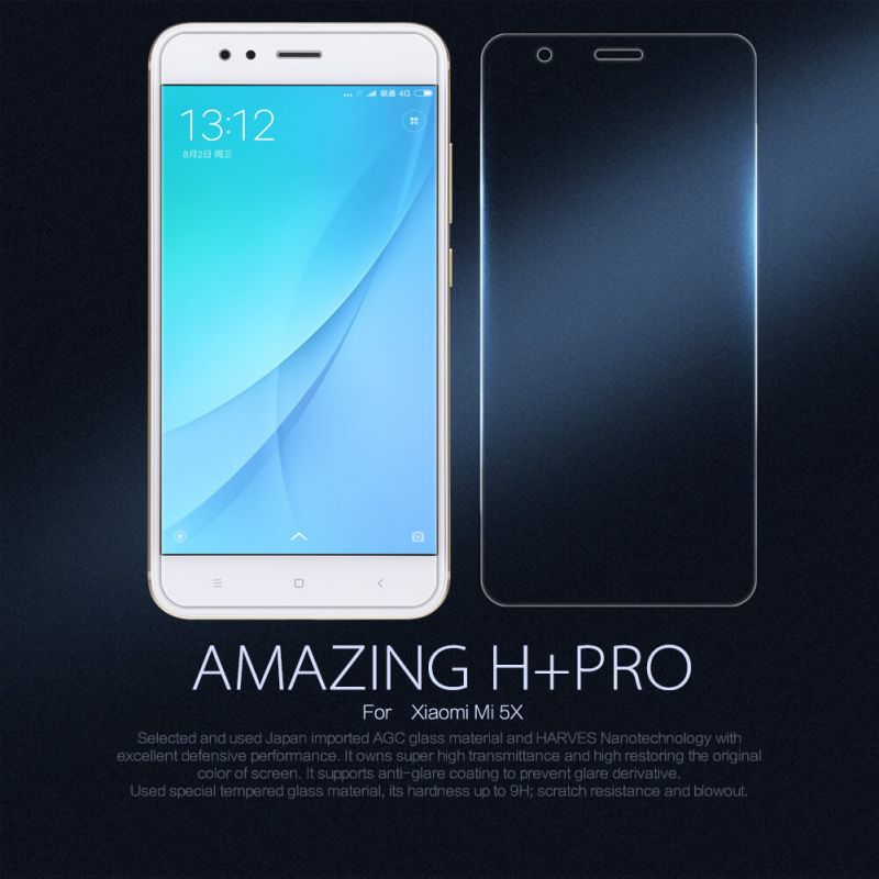 Nillkin Amazing H+ Pro tempered glass screen protector for Xiaomi Mi5X (Mi 5X) order from official NILLKIN store