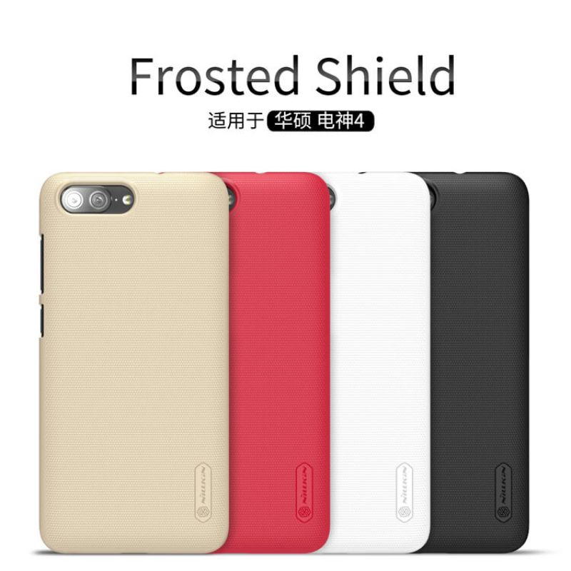 Nillkin Super Frosted Shield Matte cover case for Asus Zenfone 4 Max (ZC550TL) + free screen protector order from official NILLKIN store