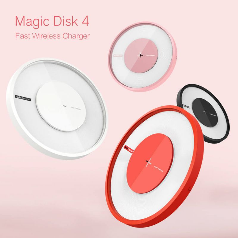 Nillkin Qi Wireless Charger Magic Disk 4 Fast Charge order from official NILLKIN store