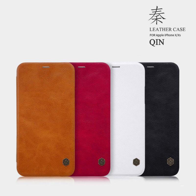 Nillkin Qin Series Leather case for Apple iPhone X order from official NILLKIN store