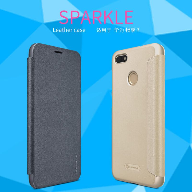 Nillkin Sparkle Series New Leather case for Huawei Y6 Pro ...