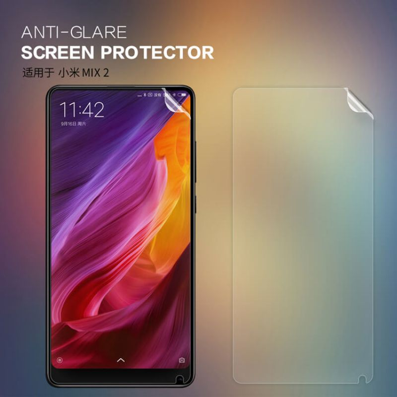 Nillkin Matte Scratch-resistant Protective Film for Xiaomi Mi MIX 2 / Mi MIX 2s order from official NILLKIN store